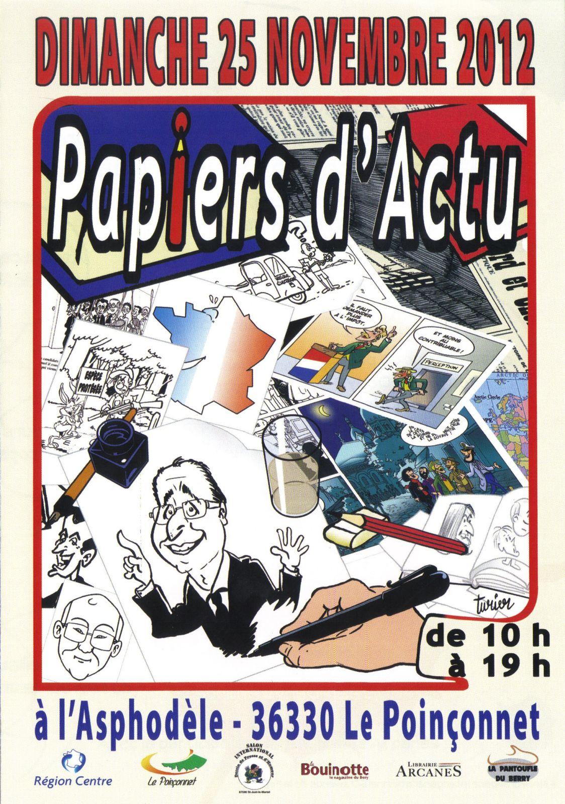 affiche Le Poinçonnet 2012