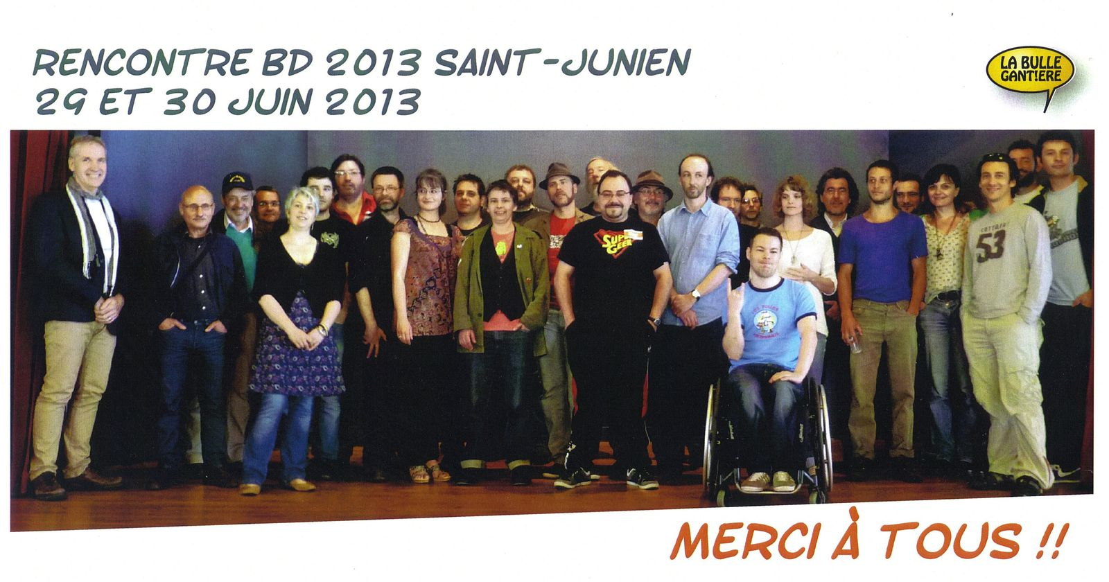 Rencontre bd saint junien 2016