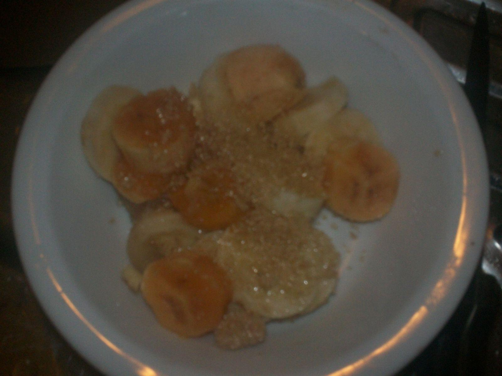 banane en croute chocolatée...