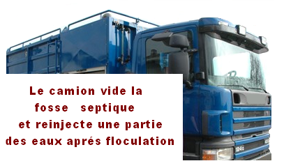 fosse septique ecologie sceptique un camion vidangeur d canteur le blog spanc d 39 igepac. Black Bedroom Furniture Sets. Home Design Ideas