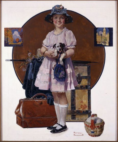 Girl-Returning-from-Summer-Trip--1921.jpg