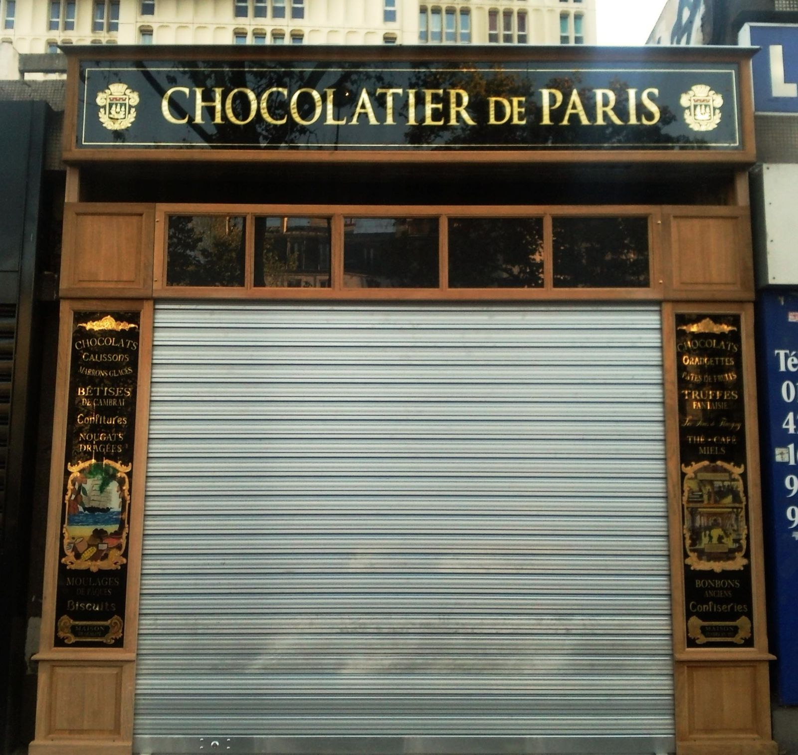 Travaux - chocolatier-de-paris