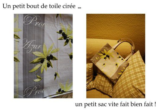 petits sacs en toile cir e le blog de la froguette. Black Bedroom Furniture Sets. Home Design Ideas