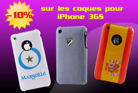 Coque iPhone 3Gs pas cher