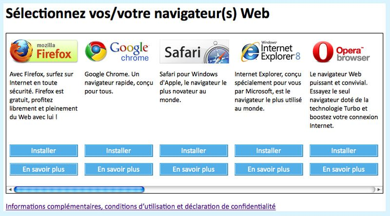 navigateur internet google gratuit