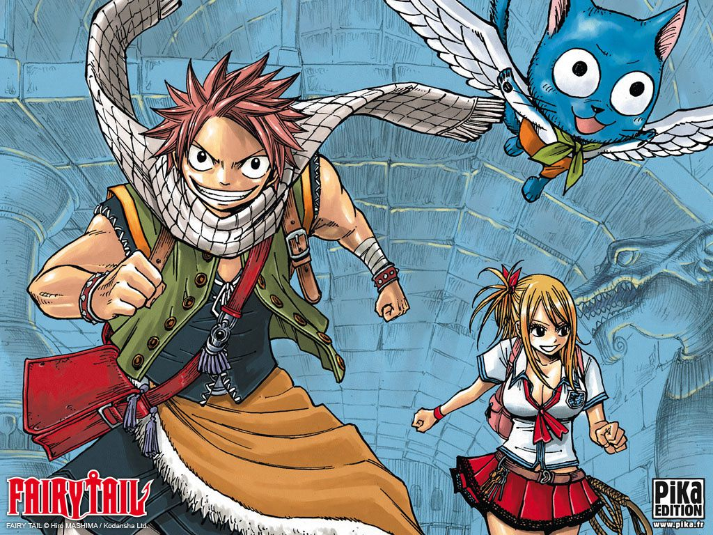 Album Fond Ecran Le Blog De La Guilde De Fairy Tail Over
