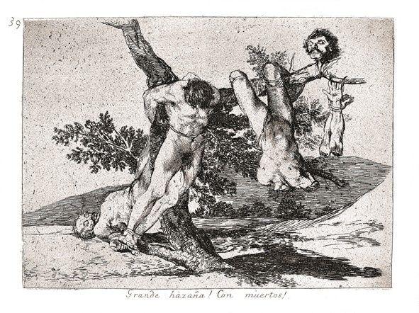 Goya Les désastres de la guerre