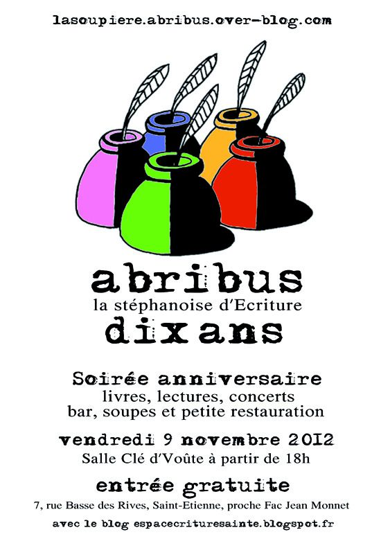 tract internet soiree 10 ans abribus