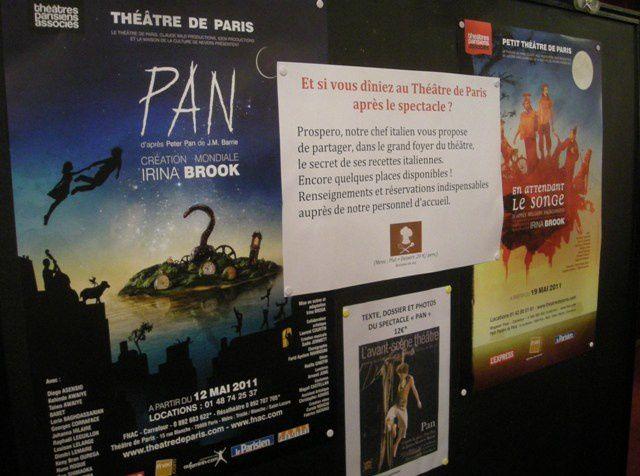 La Cie I. Brook envahit le théâtre de Paris