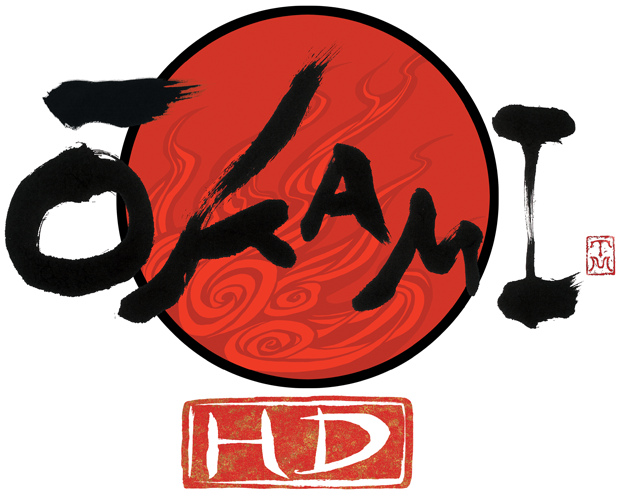 Okami HD Logo - Transparent