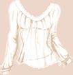 Quête Destiny Dollz - Haut blanc