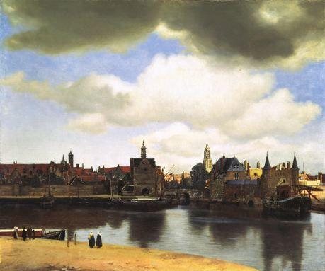 Vermeer Vue de Delft 1654 1675 La Haye Mauritshuis
