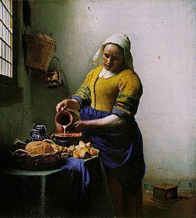 Vermeer Laitière