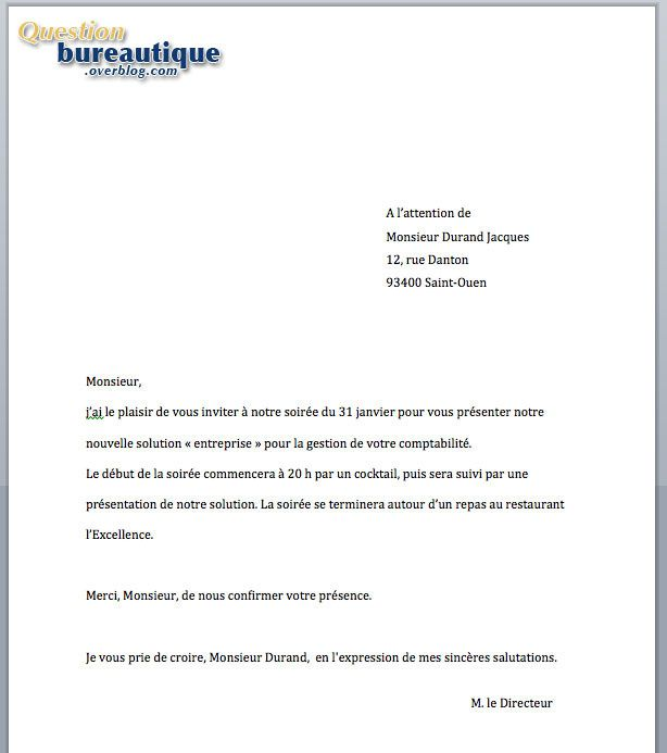 Exemple Lettre E Mailing
