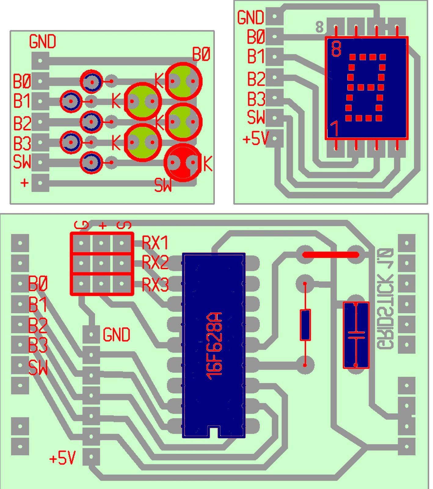Gridstick v 1 0 en construction le r2d2 d 39 olivier thx for Afficheur numerique exterieur