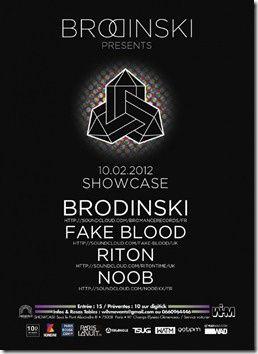 Brodinski au Showcase