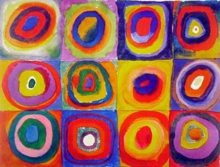 7104 Squares with Concentric Circles Kandinsky Wassily