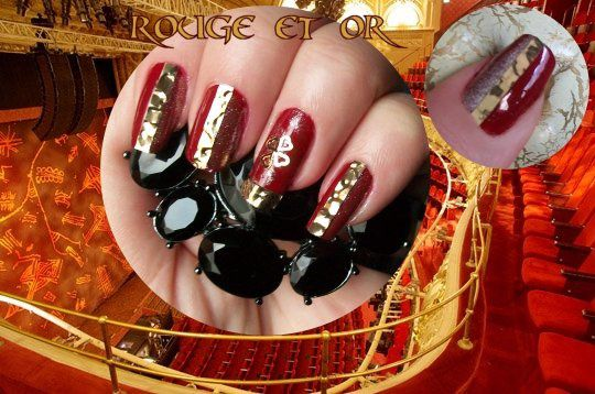 concours rouge et or
