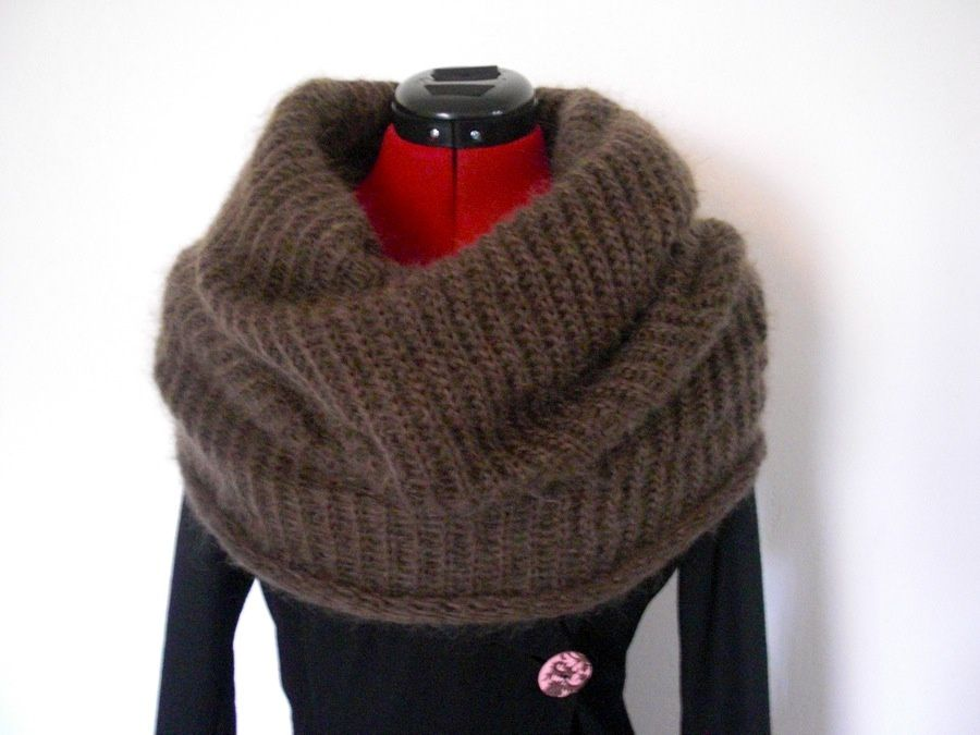 modele snood mohair
