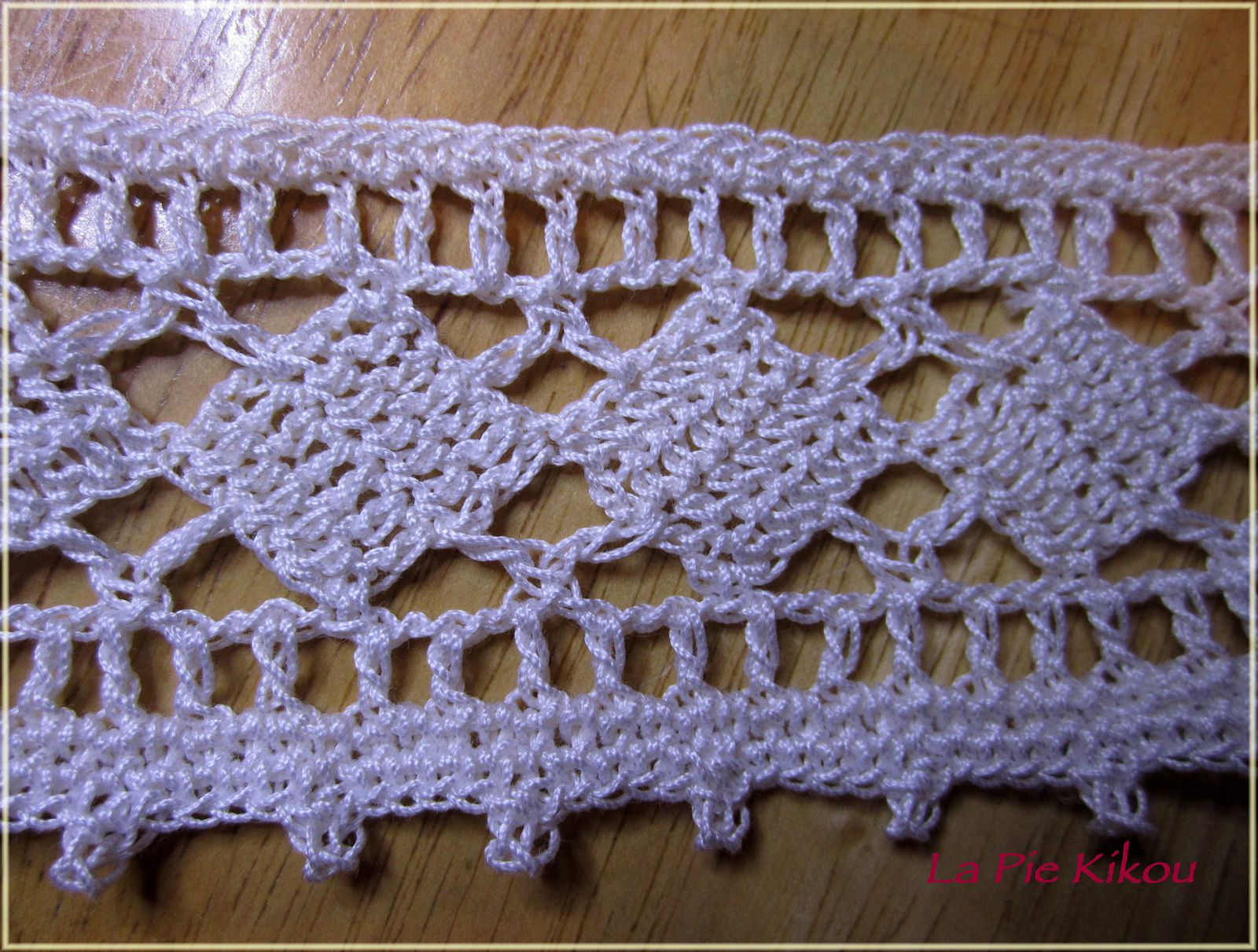 bordure crochet - la pie kikou