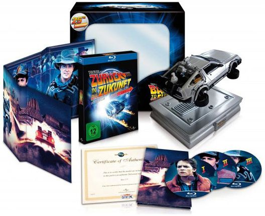 retour-vers-le-futur-blu-ray dolorean edition collector