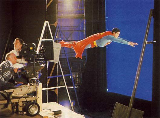 Superman IV BTS 3
