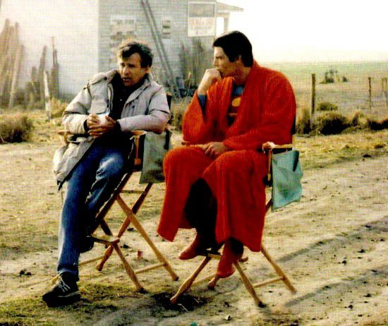 Superman IV BTS 58