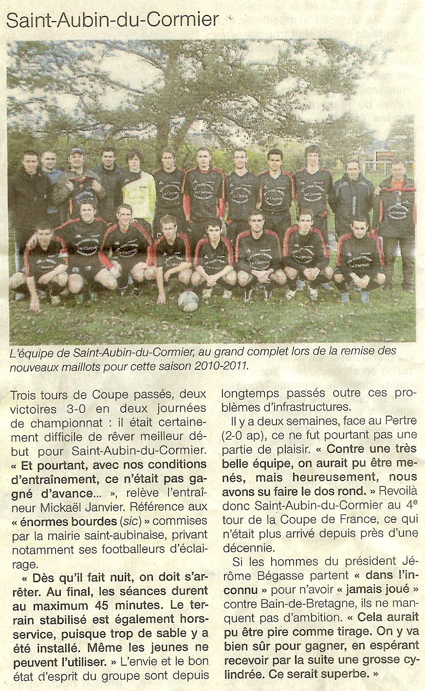 2010 10 01 OuestFrance FOOT
