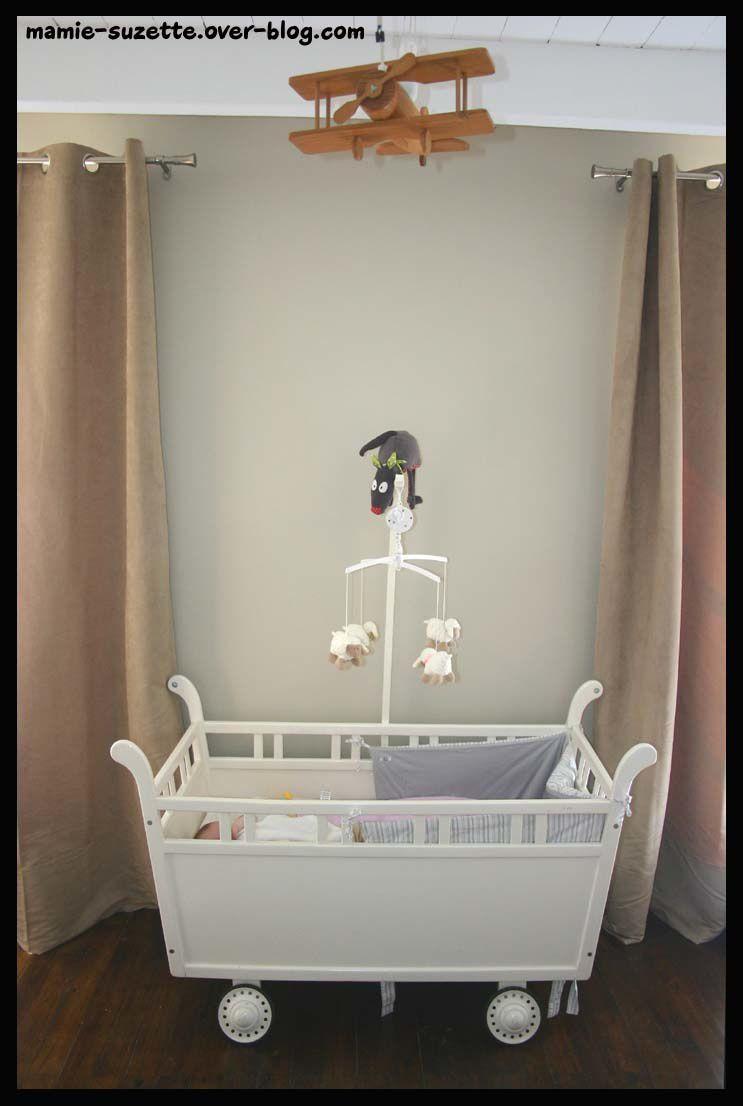 Avant apres le blog de mamie for Voilage chambre bebe garcon