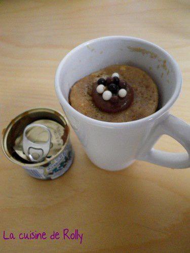 Mug Cake Nature Pour  Personne