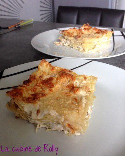 lasagnes fromagères part
