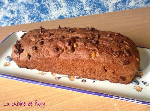 pain de mie orange confite choco