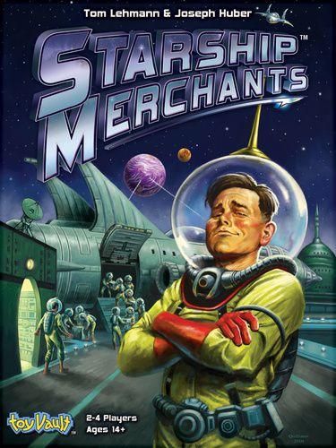 Starship Merchants-boite jeu