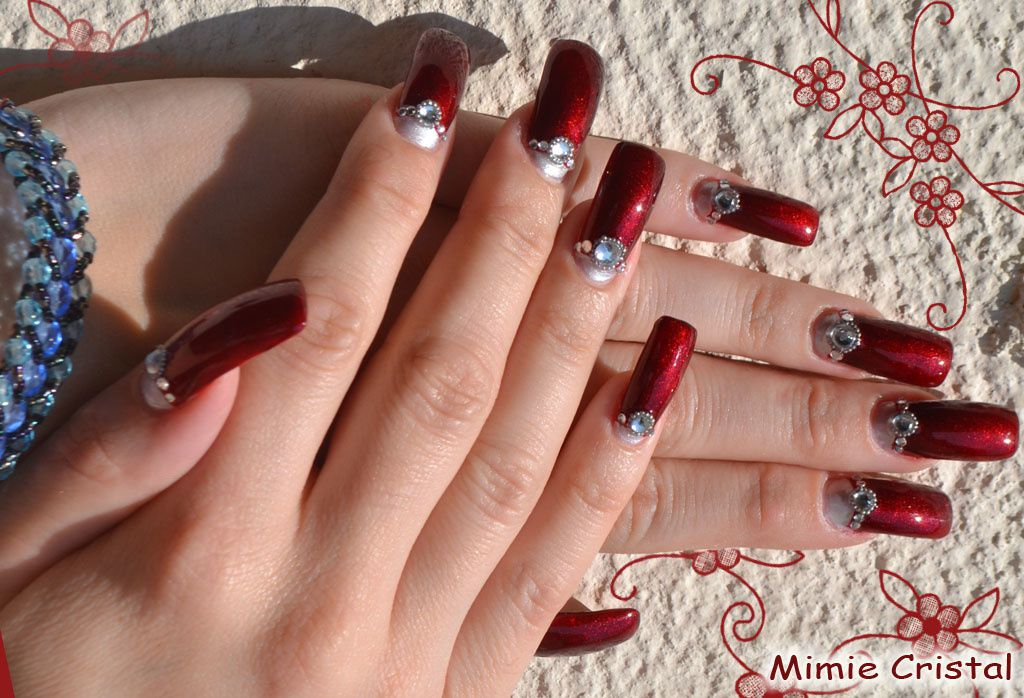mes nail art sur mes ongles les d lires ongulaires de mimie cristal. Black Bedroom Furniture Sets. Home Design Ideas