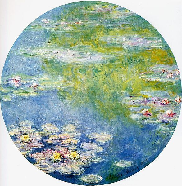 586px-Claude Monet Water Lilies 1908