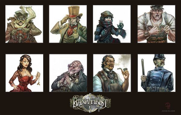 SteamPunk Characters by illgnosis