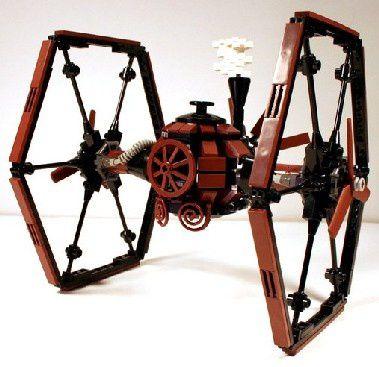 steampunk tiefighter lego star wars
