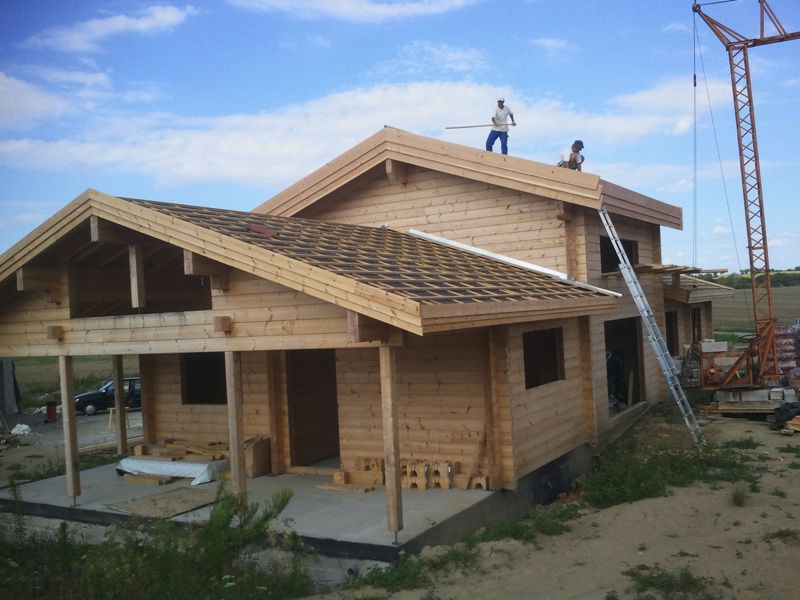 30 juillet planches de rive et liteaux tage la maison en bois massif de sam daisy. Black Bedroom Furniture Sets. Home Design Ideas