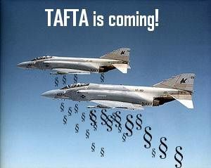 TAFTA avion