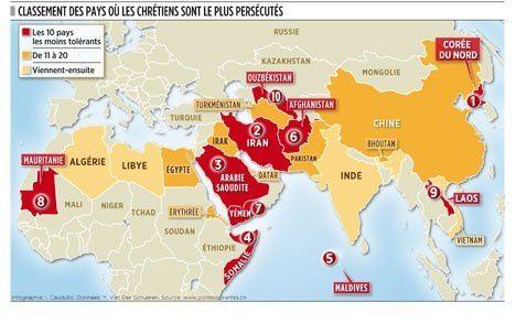 chrétiens persécutés