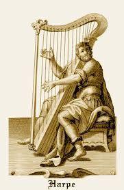 harpe dans la bible