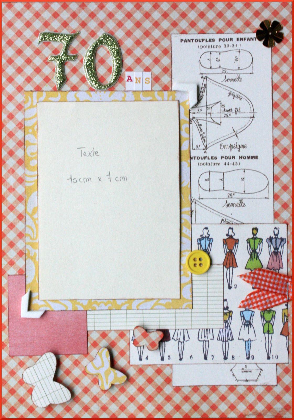 Carte d anniversaire pour minao l 8 ans - Carte anniversaire 70 ans a imprimer ...