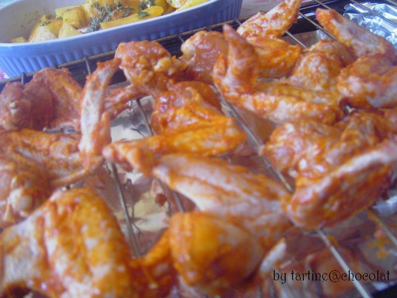 Chicken wings, ailes de poulet