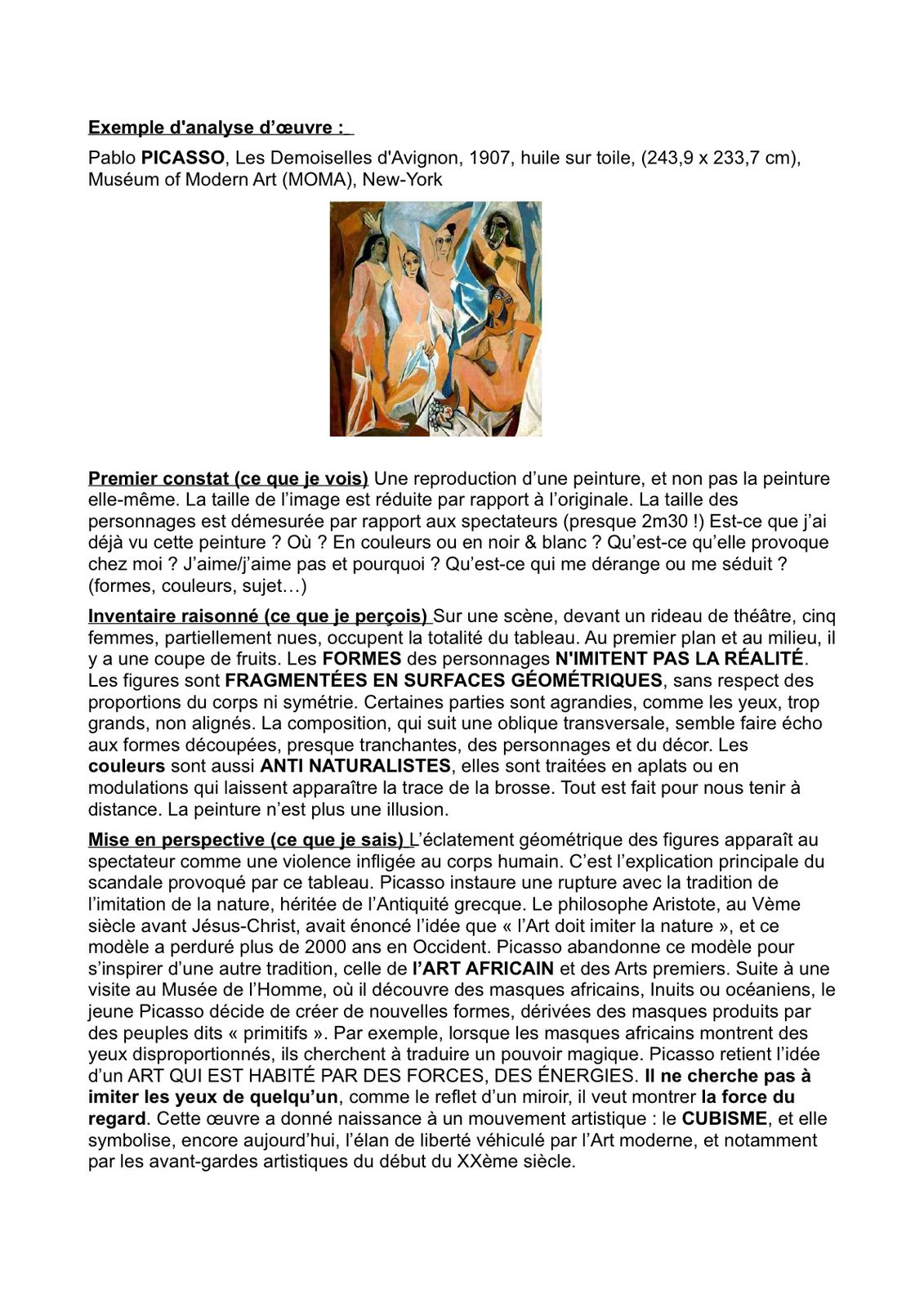 les demoiselles d avignon essay Essays on picasso's demoiselles d' avignon picasso's demoiselles d' avignon search search results pablo picasso in painting are the beginnings of cubism in 1907, picasso painted les demoiselles d'avignon, considered the watershed picture of the twentieth century, and.