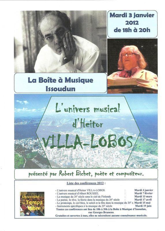 Affiche Villa-Lobos