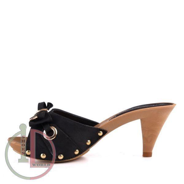 nouveaut s chaussures sandales mules sabots femme noir petit talon t 36 37 38 39 40 41. Black Bedroom Furniture Sets. Home Design Ideas
