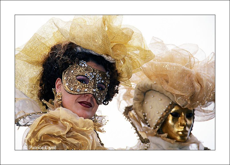 Le carnaval de Venise, il y a quelques années / The carnival of Venezia a few years ago