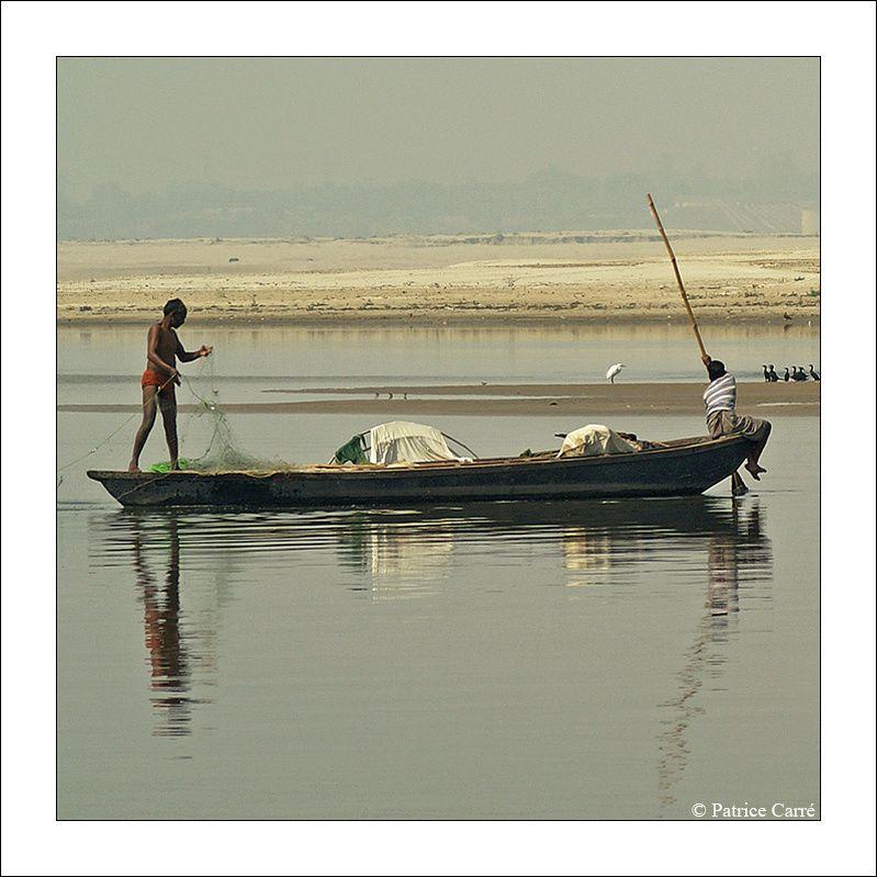 Scénes de vie de différents métiers à Bénarès en Inde / Differents trade and people of Varanasi in India