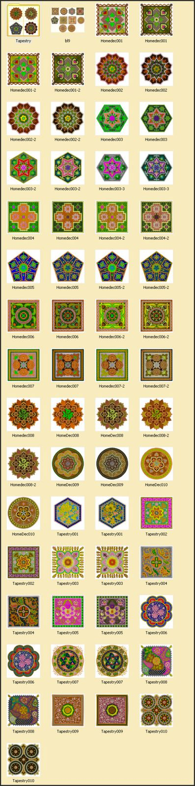 patterns,broderie