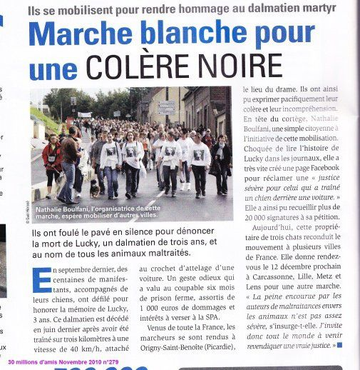 marche blanche guise 2010